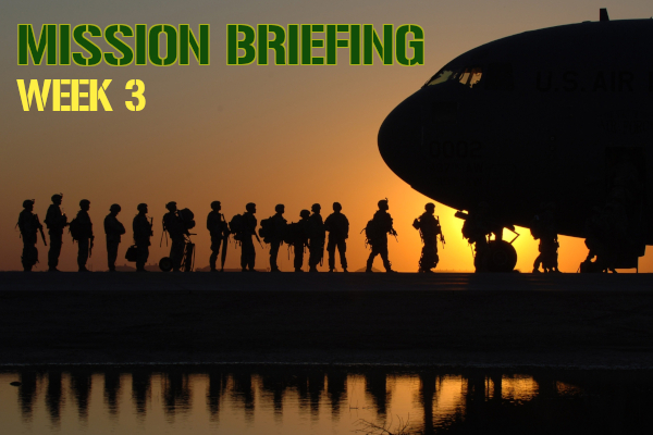 Mission Briefing | Week 3